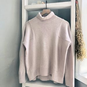 Athleta Pink Chasmere Sweater Size XS